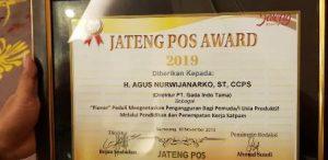 JATENG POS AWARD 2019